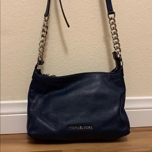 Small navy Michael Kors purse